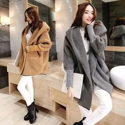 AiSun - Hooded Fleece Coat