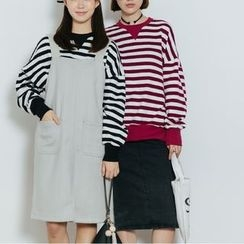 Heynew - Striped Sweatshirt