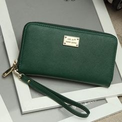 enoi - Faux Leather Long Wallet