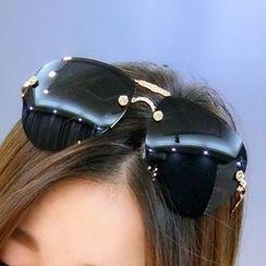 OJOS - Rose-Accent Sunglasses