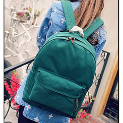 Jackpot Queen - Plain Canvas Backpack