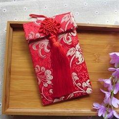 Lucky Cat - 中國結紅包袋