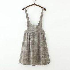 ninna nanna - Check Jumper Skirt