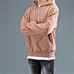 THE COVER - Hooded Zip-Front Pullover