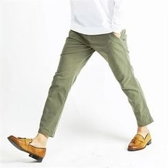 THE COVER - Flat-Front Pants