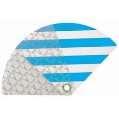 DREAMS - Pocket Size Uchiwa (Shaped Hand Fan) (Penguin)