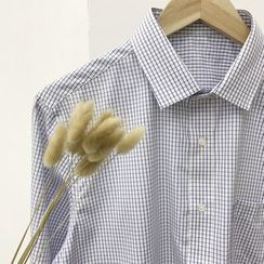 Real Boy - 长袖格子衬衫