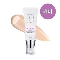 A'PIEU - Natural Flawless Cover BB Cream SPF30 PA++ (#21)