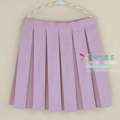 Skool - Pleated Skirt
