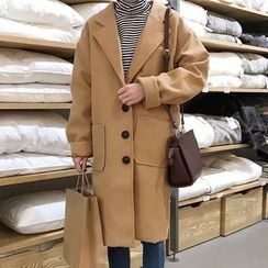 Dute - Single-Breasted Coat
