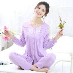 Kream - Pajama Set: Nursery Top + Pants
