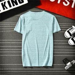 Bay Go Mall - Printed Short-Sleeve T-Shirt