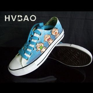 HVBAO - 'Strange Mouths' Canvas Sneakers