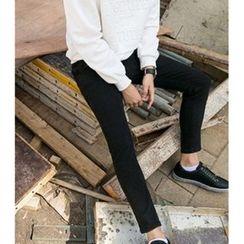 ABOKI - Cotton Blend Pants