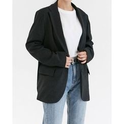 Someday, if - Dual-Pocket Single-Breasted Jacket