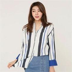 MAGJAY - Plain Striped Shirt