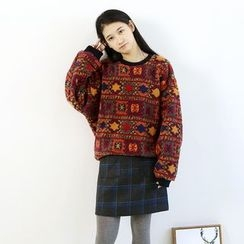 Ranche - Patterned Pullover
