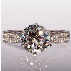 Nanazi Jewelry - Rhinestone Ring (8mm)