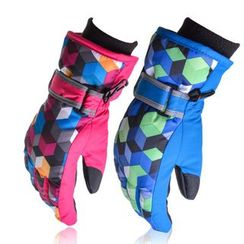 tuban - Patterned Ski Gloves