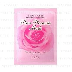 HABA - Rose Placenta Mask