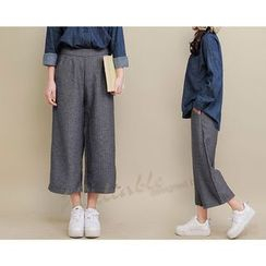 Yammi - Cropped Wide Leg Pants