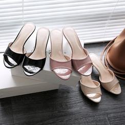 幸福鞋坊 - 低跟凉拖