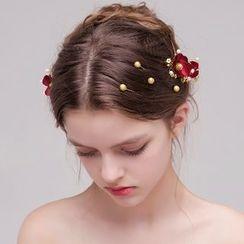 Miss Diva - Floral Hair Stick