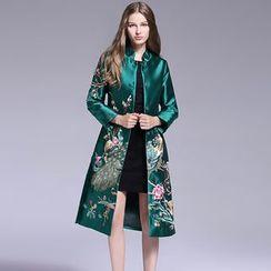 Elabo - 刺绣长外套