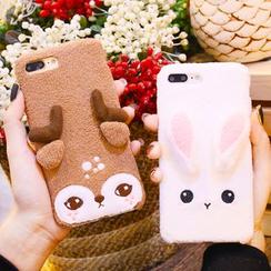 Sea Girl - Fleece Animal Mobile Case - iPhone 7 / 7 Plus / 6s / 6s Plus