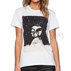 Obel - Short-Sleeve Print T-Shirt
