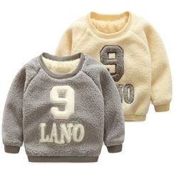 Seashells Kids - Kids Applique Fleece Pullover