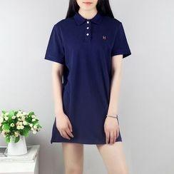 AIGIL - Short-Sleeve Polo Dress