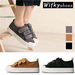 Wifky - Velcro Corduroy Sneakers