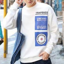 HANDA - Printed Pullover