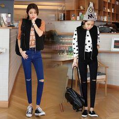 Denimot - Distressed Skinny Jeans