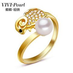 ViVi Pearl - Freshwater Pearl Sterling Silver Ring
