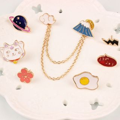 Coolgirl - Chain Collar Brooch