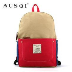 Ausqi - Parents and Kids Canvas Backpack