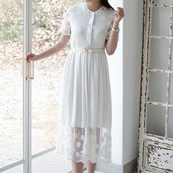 Jolly Club - Lace Maxi Dress