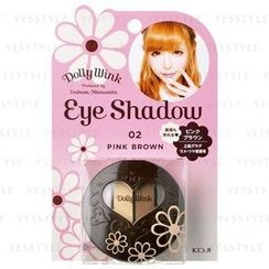 Koji - Dolly Wink Eye Shadow (#02 Pink Brown)