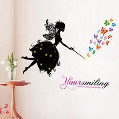 LESIGN - Fairy and Butterfly Wall Sticker