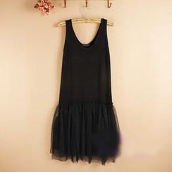 Lacyland - 薄紗背心裙