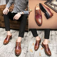 MARTUCCI - Lace-Up Brogue Shoes