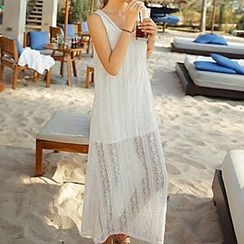 Moonrise Swimwear - Sleeveless Lace Cover Dress