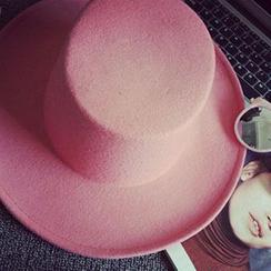 卿本佳人 - 纯色礼帽帽