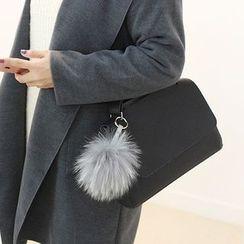 STYLEBYYAM - Faux-Leather Shoulder Bag