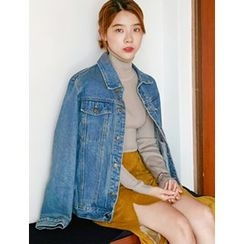 FROMBEGINNING - Buttoned Denim Jacket