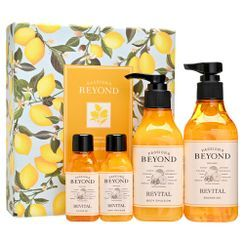BEYOND - Revital Body Gift Set: Shower Gel 250ml + 60ml + Emulsion 200ml + 60ml