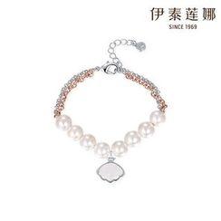 Italina - Swarovski Elements Faux-Pearl Bracelet