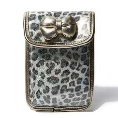 Shibu - Leopard Print Mobile Phone Pouch